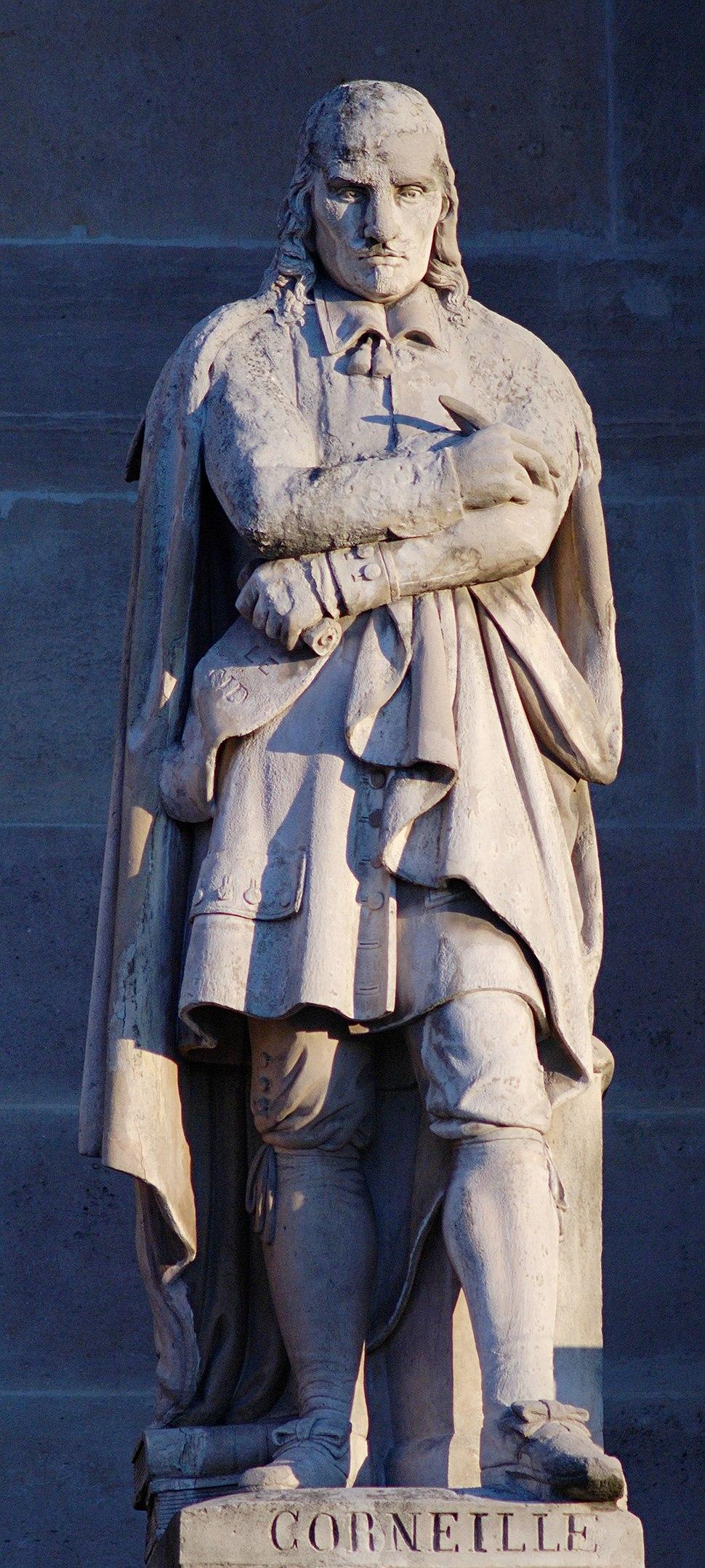 Corneille cour Napoleon Louvre