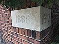 Cornerstone, United in Christ Seventh Day Adventist Church (1917), 3401 Old York Road, Baltimore, MD 21218 (26813491207).jpg