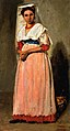Corot - Standing Italian Woman from Albano in Festive Costume, 1826-1827.jpg