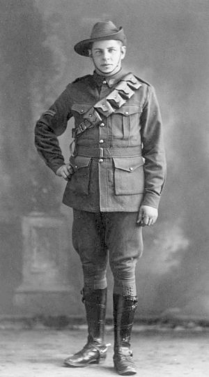 Harold Hardwick - Corporal Harold Hardwick, ca. Aug 1919
