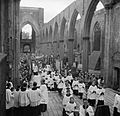 Corpus Christi in Southwark- Service and Ceremony at St George's Cathedral, Southwark, London, England, UK, 1944 D20797.jpg