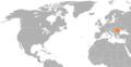 Costa Rica Romania locator.png