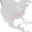 Cotinus obovatus range map 1.png