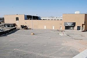 Cottonwood Mall (Utah) - Structure under demolition in 2008