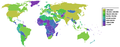 Countries by carbon dioxide emissions world map.PNG
