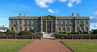 Ayr - County Buildings located in Ayr, Headquarters of South Ayrshire.