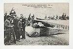 Course d'Aviation - Paris-Madrid - Mai 1911 - Départ -L'appareil de Train, après l'accident. (7843396146).jpg