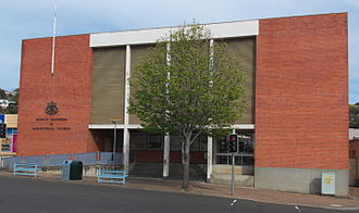 Supreme Court of Tasmania - Image: Courts Burnie 20151009 002