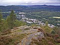 Craggy viewpoint, Birnam Hill - geograph.org.uk - 1506089.jpg