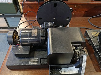 Creed & Company - Creed model 7TR/B/2 receiving perforator (reperforator)