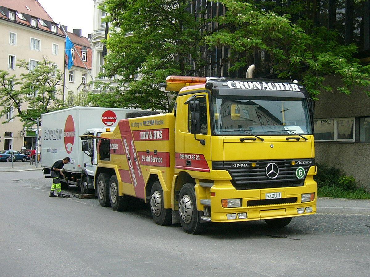 Tow truck - Wikipedia
