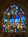 Crouy-en-Thelle (60), église Saint-Jean-Baptiste, chœur, verrière du chevet.jpg