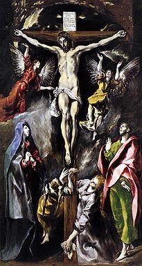 Crucifixión del colegio de María de Aragón (1597-1600).