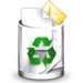 Crystal Clear filesystem trashcan full.png