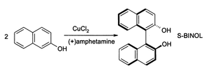 2-Naphthol - Coupling of beta-naphthol using CuCl2