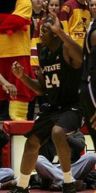 Curtis Kelly - Kelly playing for Kansas State