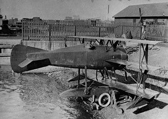 Curtiss GS - The Curtiss GS-1 triplane