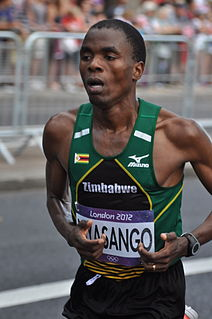 Cuthbert Nyasango Zimbabwean long-distance runner
