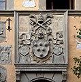 Cutigliano, palazzo dei capitani della montagna, stemmi 21 medici 2.jpg