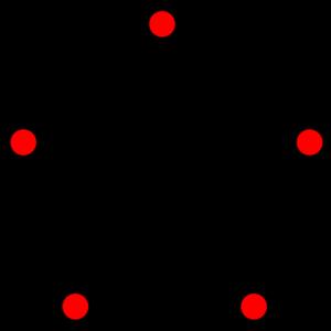 Lovász number - Pentagon graph