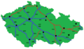 Czechia, European roads.png