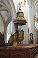 D-7-79-169-2 Kaisheim Kosterkirche Kanzel v-Mittelschiff-her.jpg