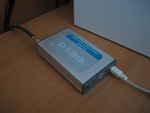 TV tuner card - D-Link external TV tuner