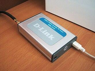 TV tuner card - D-Link external TV tuner