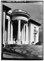 DETAIL OF PORTICO (EAST SIDE) - Villa Lewaro, North Broadway, Irvington, Westchester County, NY HABS NY,60-IRV,5-2.tif