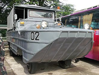 Philippine Navy Reserve Command - DUKW assigned to the 202nd NRS.