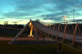 Vebjørn Sand Da Vinci Project - Image: Da Vinci Bridge