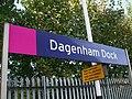 Dagenham Dock stn signage.JPG