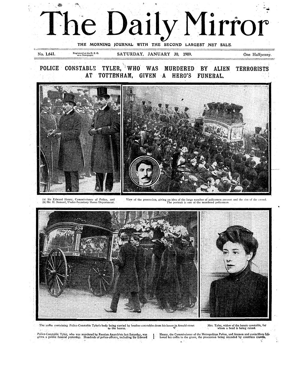 Daily Mirror – 30 Jan 1909 – Page 1