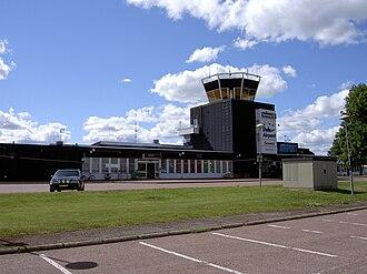 Dala Airport - Image: Dala Airport Terminal 1