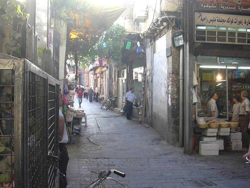 File:Damaskus, Süße Spezialitäten für den Import von Chez 'Olabi (37819349725).jpg
