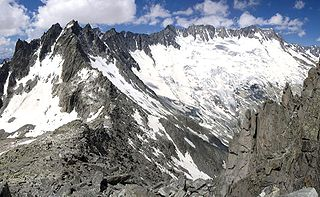 Dammastock mountain in the Urner Alps