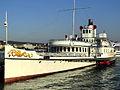 Dampfschiff Stadt Rapperswil - Bürkliplatz 2012-07-26 19-34-17 (P7000).JPG
