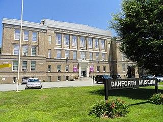 Danforth Art art museum in Framingham, Massaschusetts