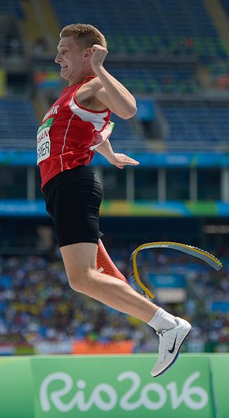 Daniel Wagner (parathlete) - Wagner at the 2016 Paralympics
