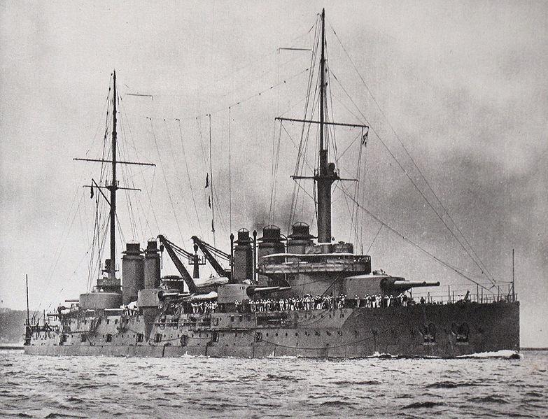 Battleship Danton (1906)