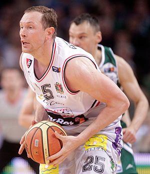 Darius Songaila - Songaila playing for Lietuvos rytas Vilnius
