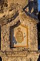 Darstellung eines heiligen auf der Pestsäule in Westerham (Feldkirchen-Westerham).jpg