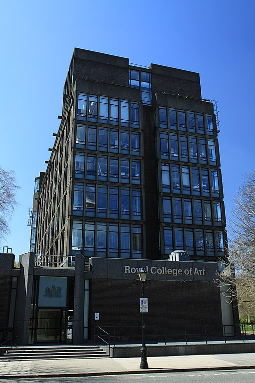 Darwin Building, Royal College of Art in London, spring 2013