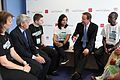 David Cameron and Andrew Mitchell talk to young International Citizen Service and IPPF volunteers (7549876166).jpg