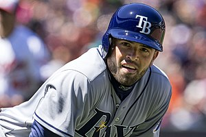 David DeJesus - DeJesus with the Tampa Bay Rays