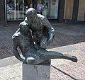De barmhartige Samaritaan Frank Letterie Dorpsstraat Putten.jpg