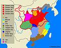 De fem dynastierna och De tio rikena Karta.jpg