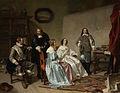 De prinses van Oranje bezoekt het atelier van Bartholomeus van der Helst Rijksmuseum SK-A-4701.jpeg