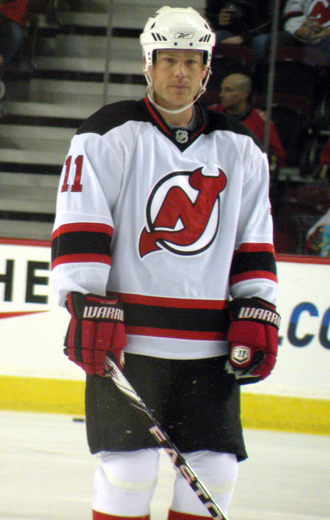 Dean McAmmond - McAmmond with the New Jersey Devils in 2010