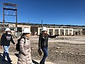 Deb Haaland tours the Santa Fe Railway Shops in 2019. 02.jpg